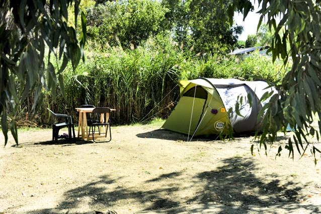 camping emplacement pour tente colioure